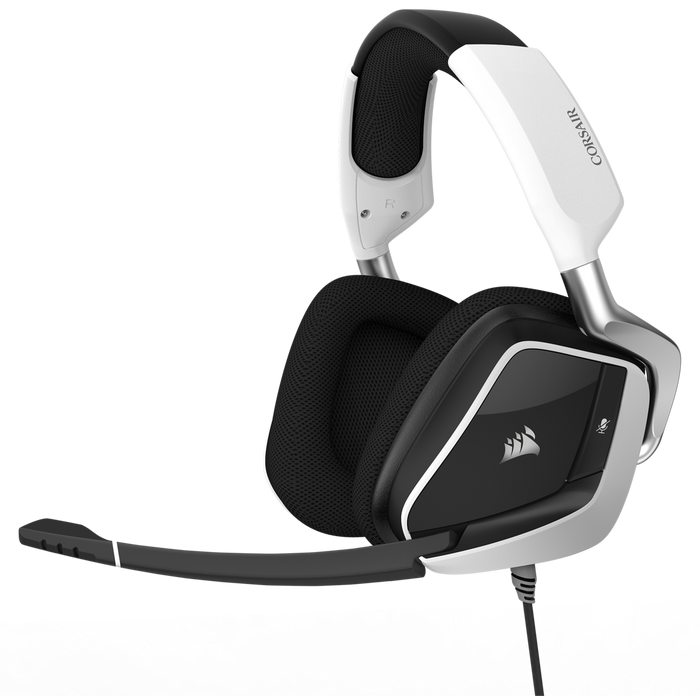 Corsair VOID PRO RGB USB Premium Gaming Headset with Dolby® Headphone 7.1 — White