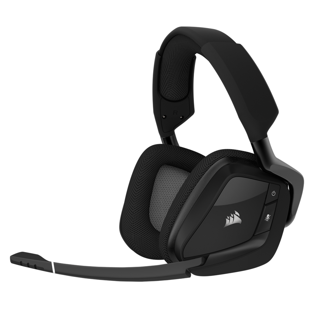 Corsair VOID PRO RGB Wireless Premium Gaming Headset with Dolby® Headphone 7.1 — Carbon