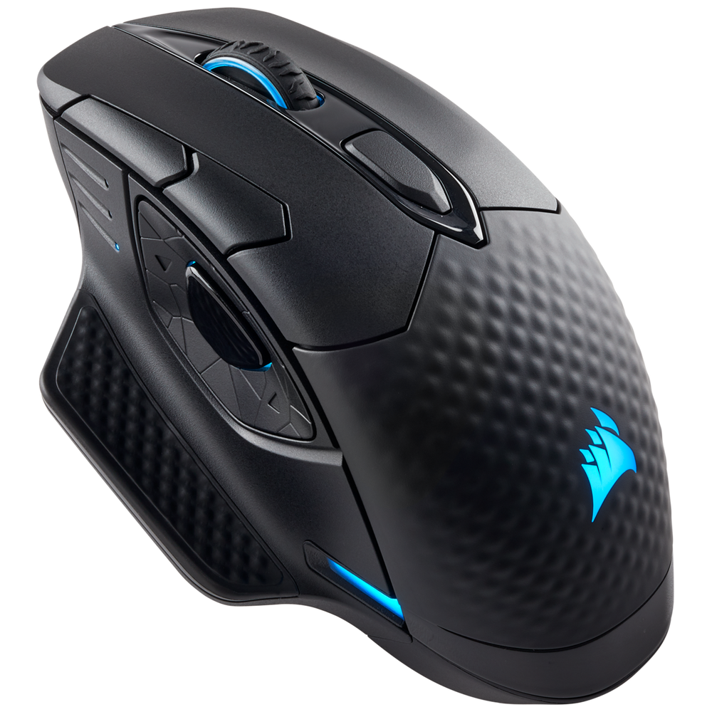 Corsair DARK CORE RGB SE Performance Wired / Wireless Gaming Mouse with Qi® Wireless Charging