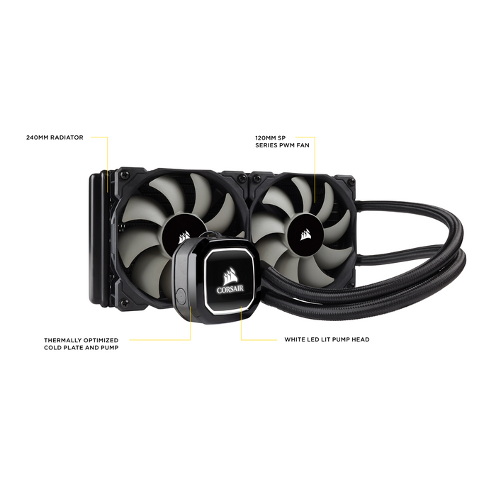 Corsair Hydro Series H100x High Performance Water Cooler