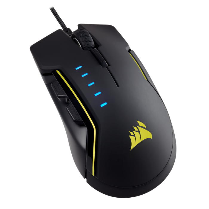 Corsair GLAIVE RGB Gaming Mouse — Black