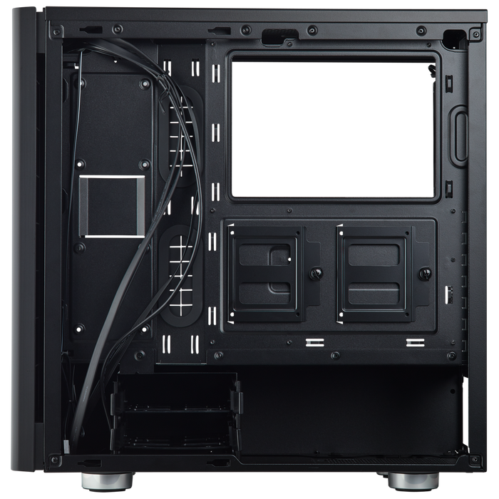 Carbide Series 275R Tempered Glass Mid-Tower Gaming Case — Black