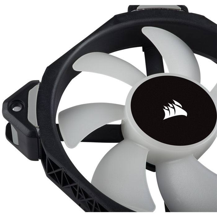 Corsair ML140 PRO RGB LED 140MM PWM Premium Magnetic Levitation Fan — Single Pack Case Fan