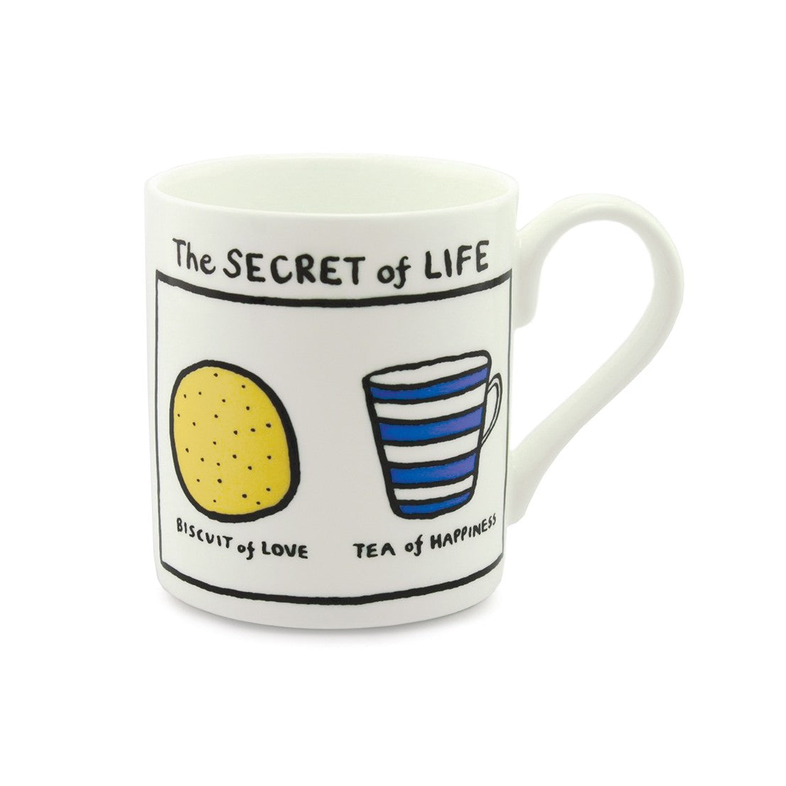 Edward Monkton Secret of Life China Mug