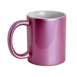 Sparkle Pink Personalised Photo Mug