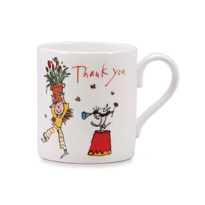 Quintin Blake New Thank You China Mug
