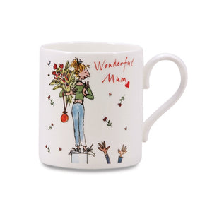 Quintin Blake New Wonderful Mum China Mug