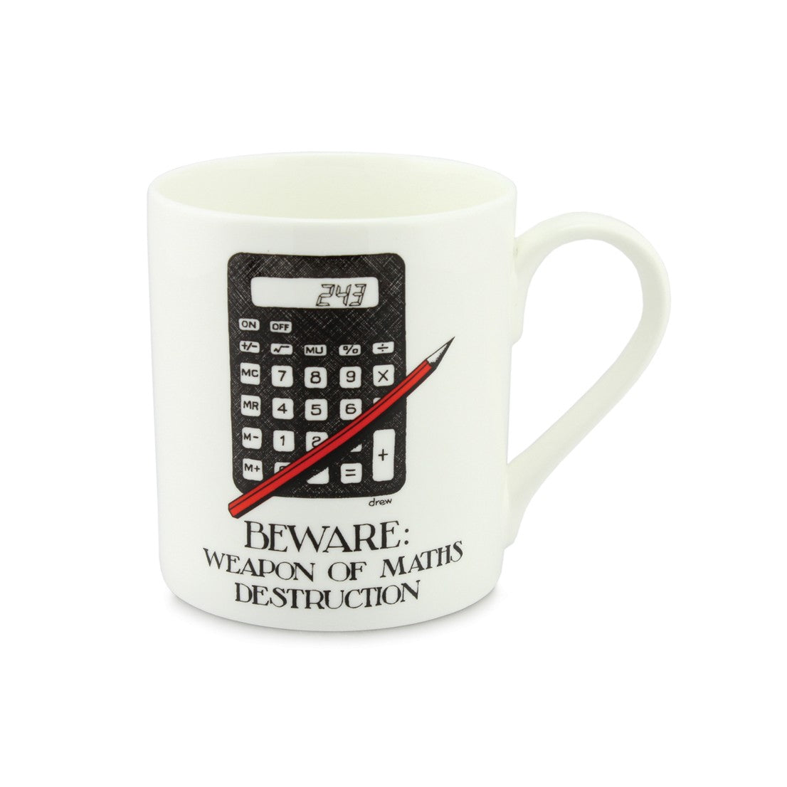 Weapon of Maths Destruction China Mug