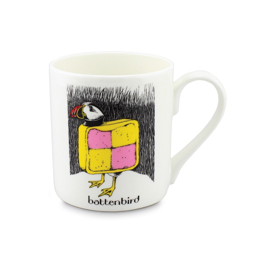 Simon Drew Battenbird China Mug