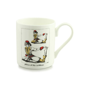 Pilates of the Caribbean China Mug