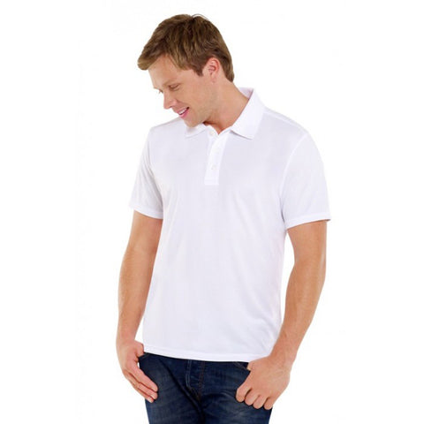 Personalised Printed Photo Mens Polo Shirt