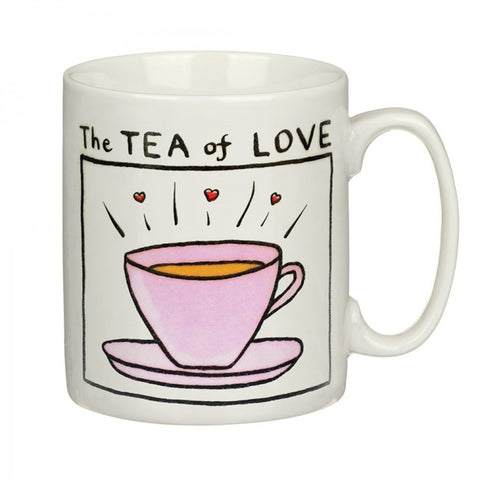 Tea Of Love China Mug