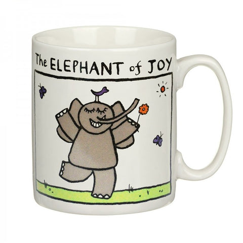 Elephant Of Joy China Mug