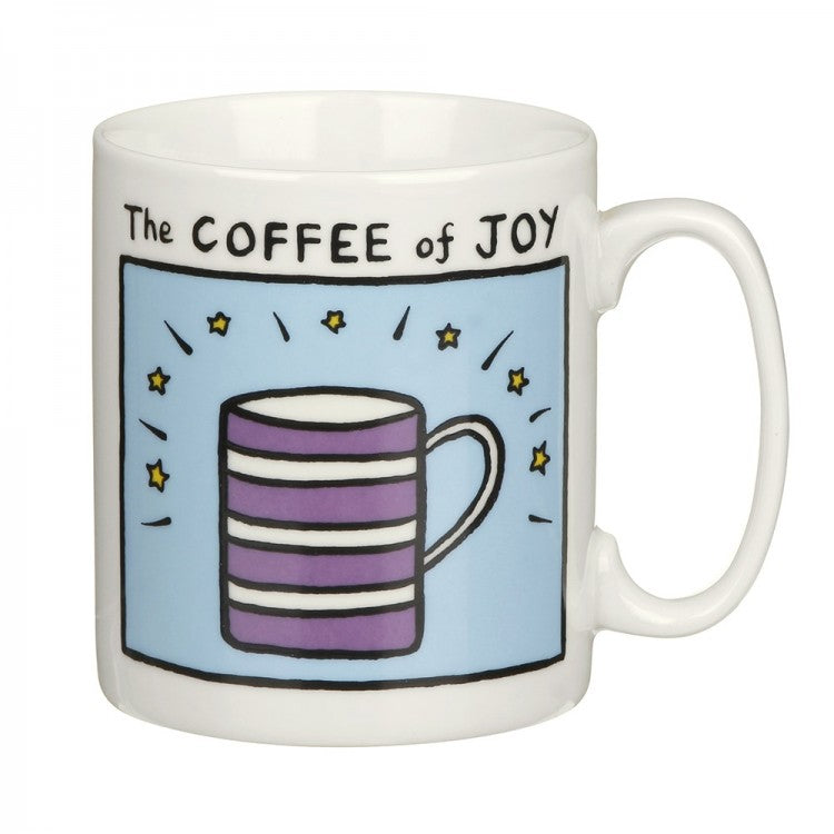Edward Monkto Coffee Of Joy China Mug