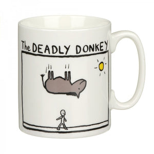 The Deadly Donkey China Mug
