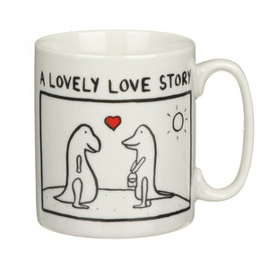 Edward Monkton A Lovely Love Story China Mug