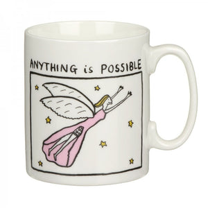 Edward Monkton Anything is Possible China Mug