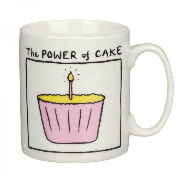 Edward Monkton The Power of Cake China Mug