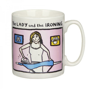 Edward Monkton The Lady and The Ironing China Mug