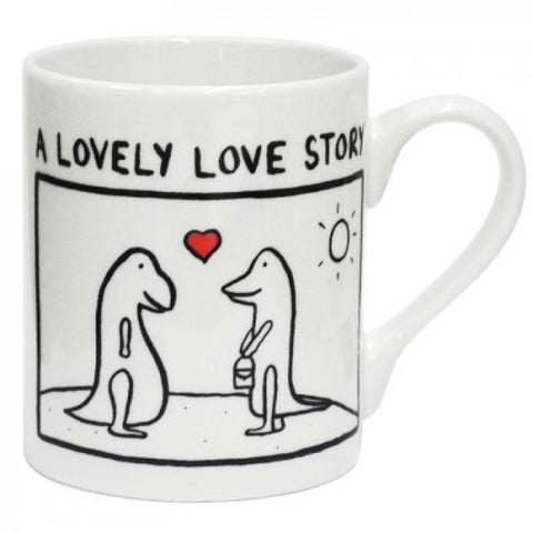 Lovely Love Story China Mug