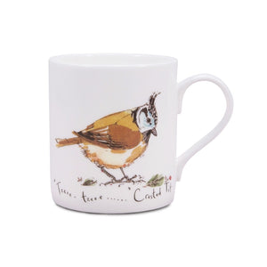 Madeleine Floyd Crested Tit China Mug