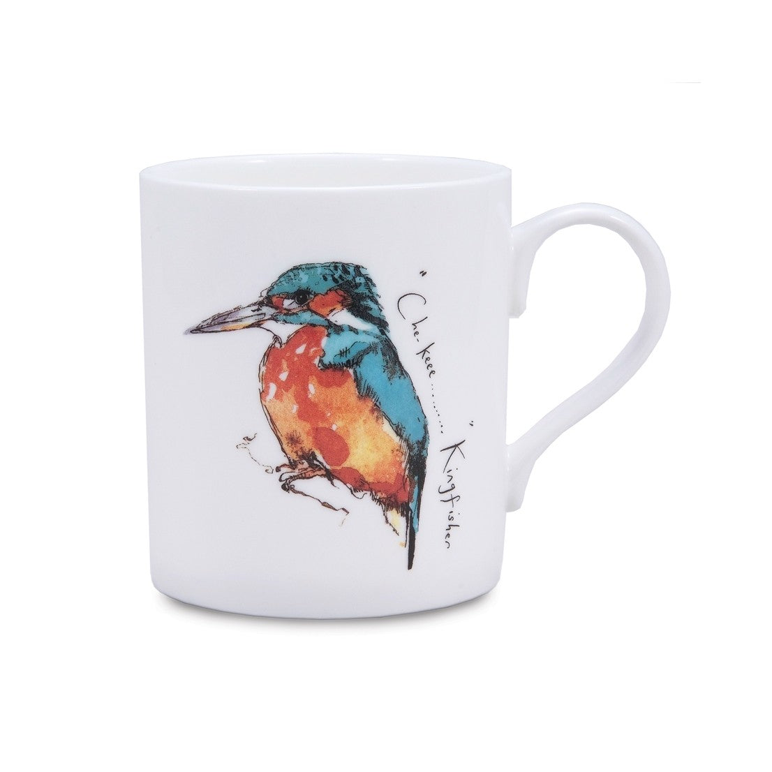 Madeleine Floyd Kingfisher China Mug