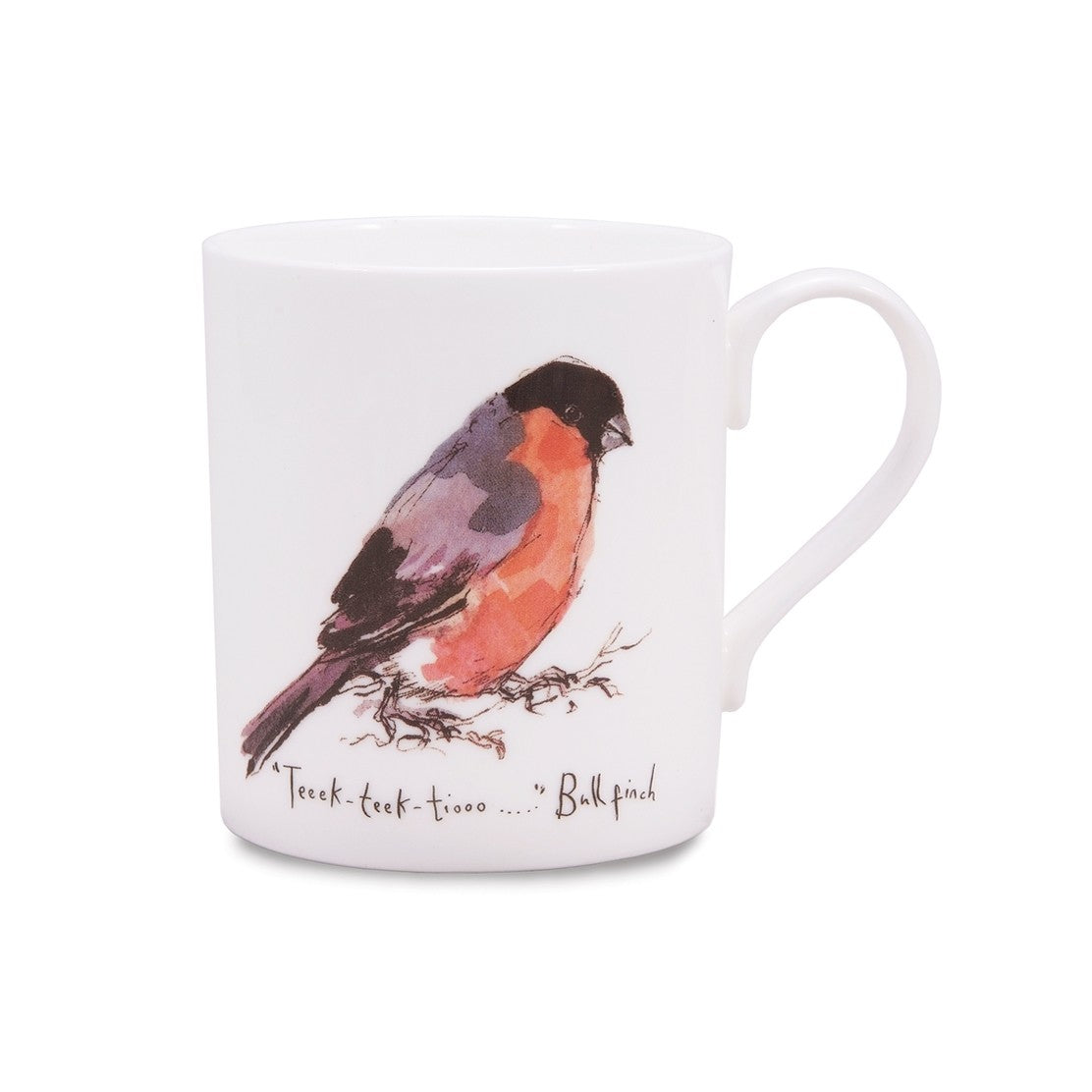 Bulfinch China Mug by Madeleine Floyd