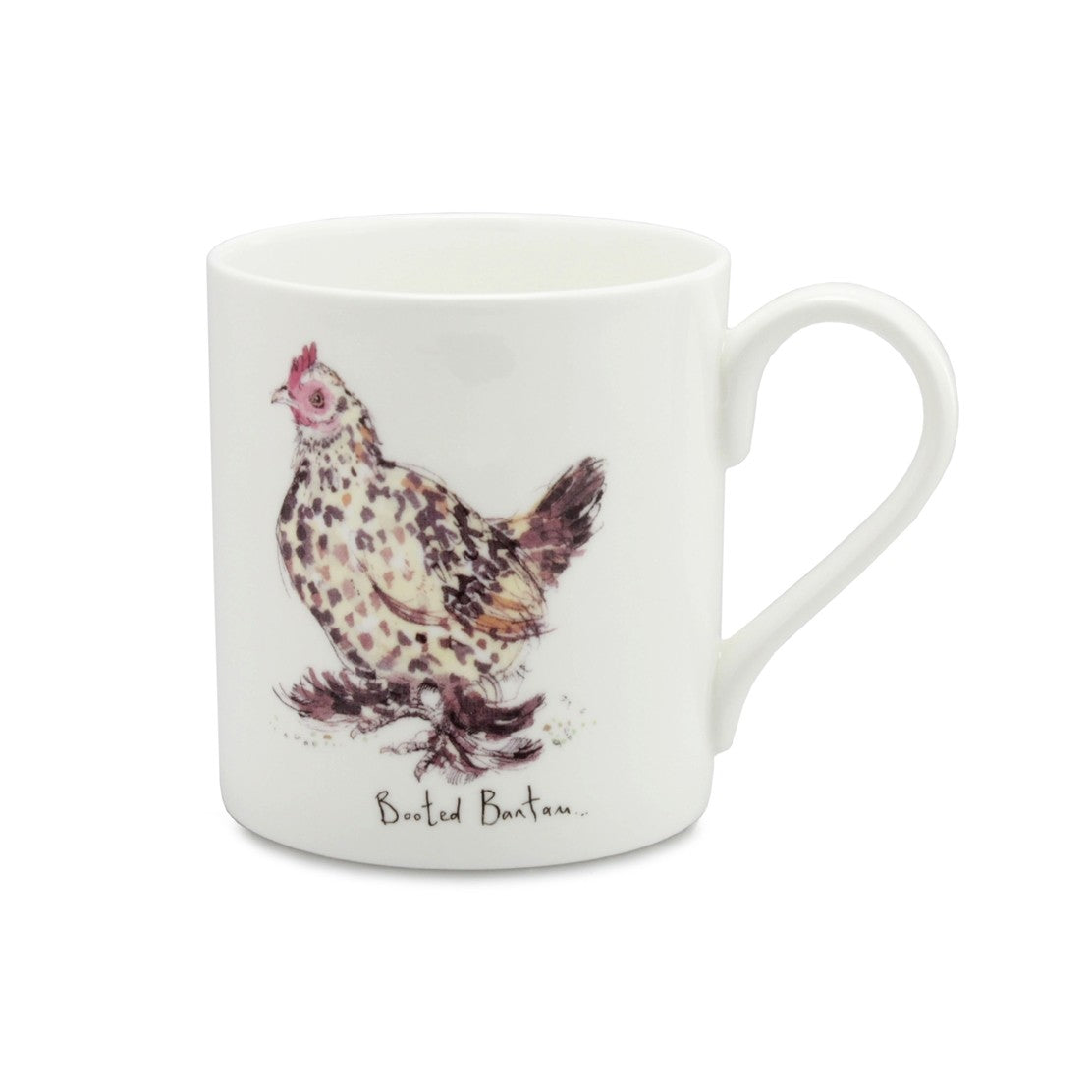 Booted Bantam China Mug by Madeleine Floyd