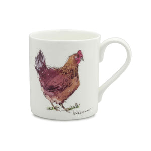Welsummer Hen China Mug