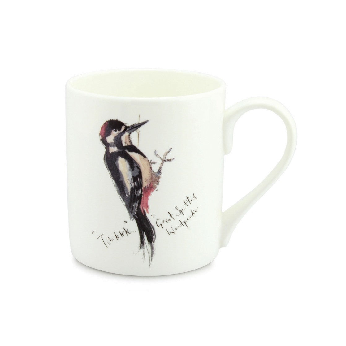 Great Woodpecker China Mug