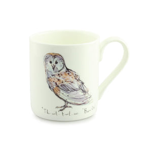 Madeleine Floyd Barn Owl China Mug