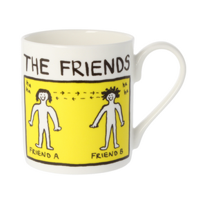 Edward Monkton The Friends China Mug