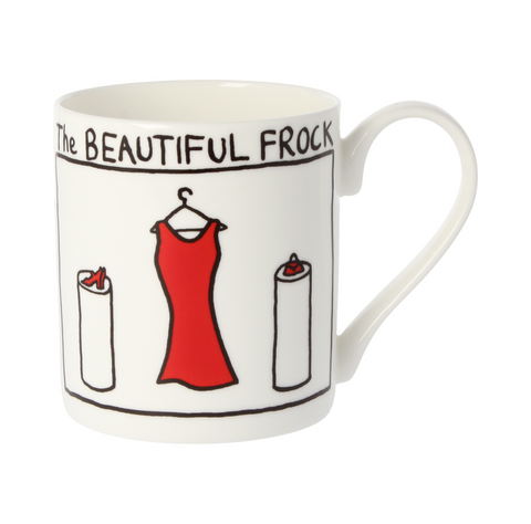 The Beautiful Frock China Mug