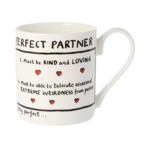 Perfect Partner China Mug