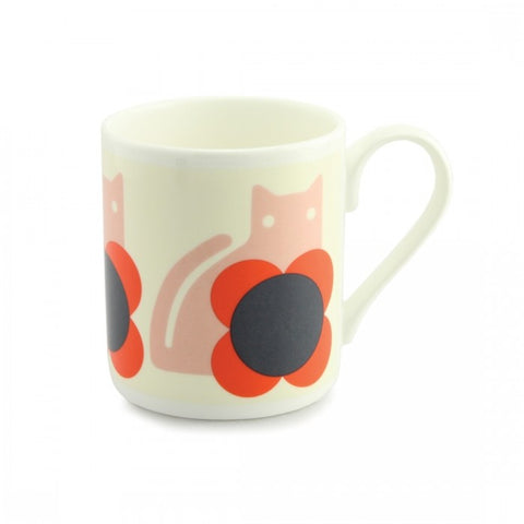 Cat Poppy China  Mug