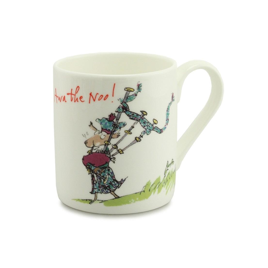 Quintin Blake Awa the Noo China Mug