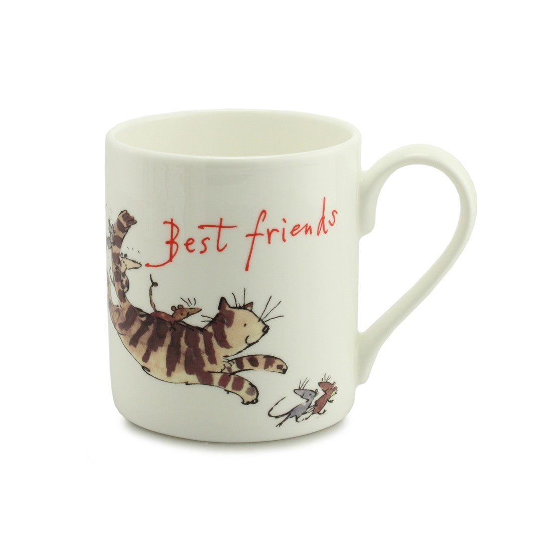 Best Friends China Mug by Quintin Blake