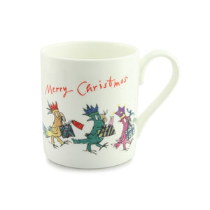 Quintin Blake Cockatoo Merry Christmas China Mug