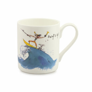Quintin Blake Surfer China Mug