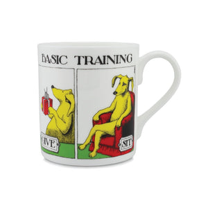 Basic Training Simon Drew China Mug