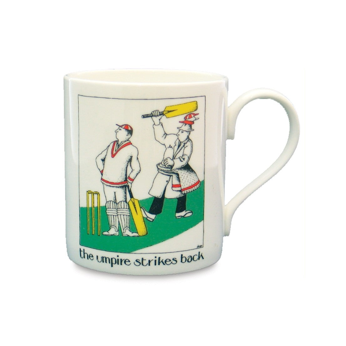 Umpire Strikes Back China Mug