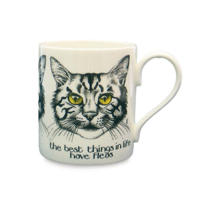 Simon Drew Fleas China Mug
