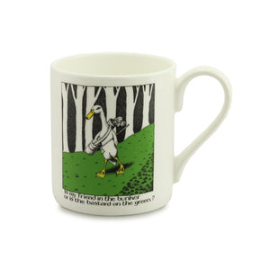 Simon Drew Golf Bunker China Mug