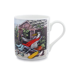 Simon Drew Incapability Brown China Mug