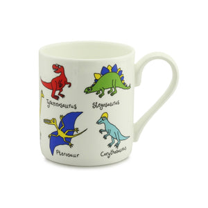 Two Rows Dino China Mug