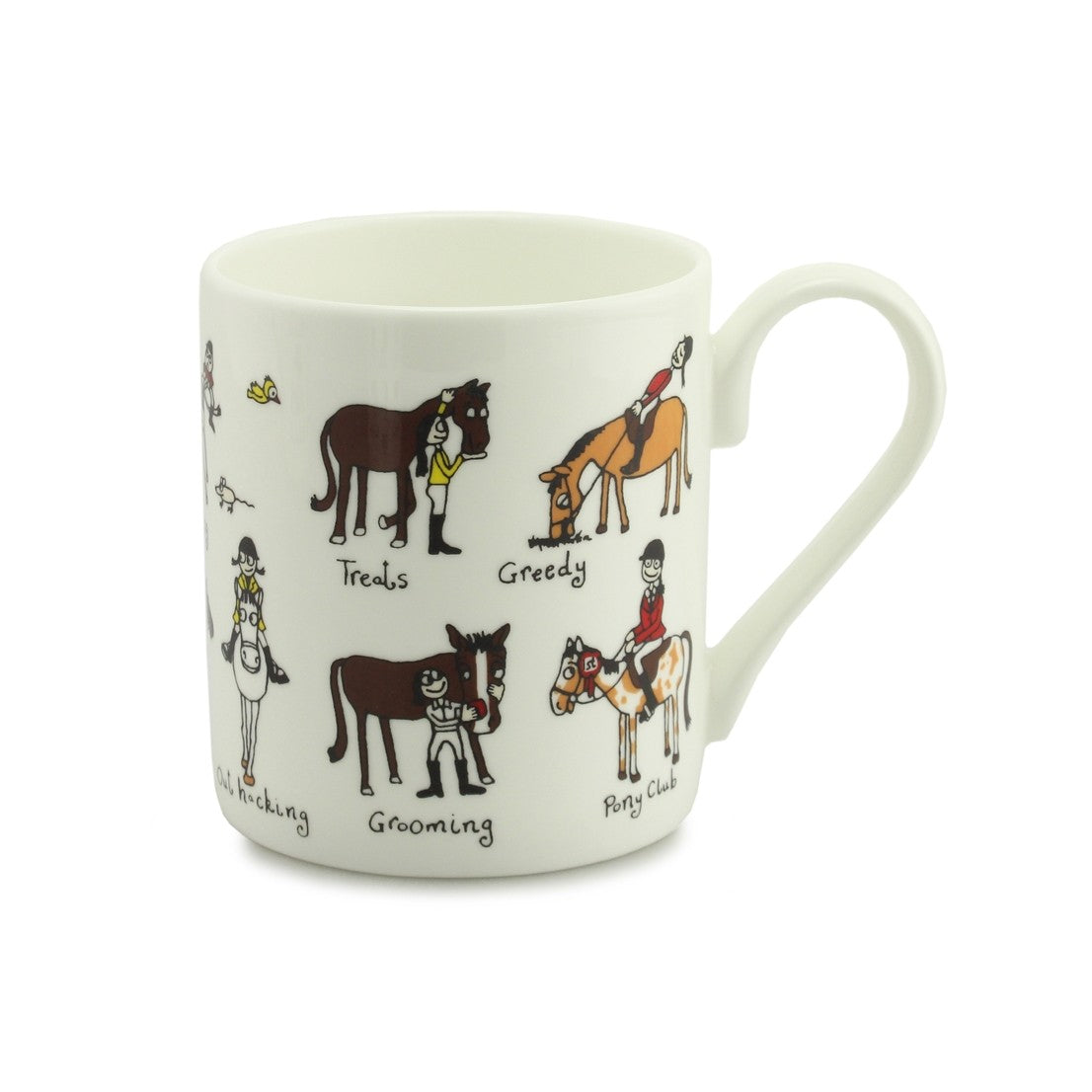 Little Ponies China Mug