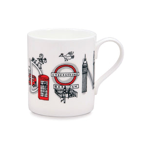 London Icons China Mug