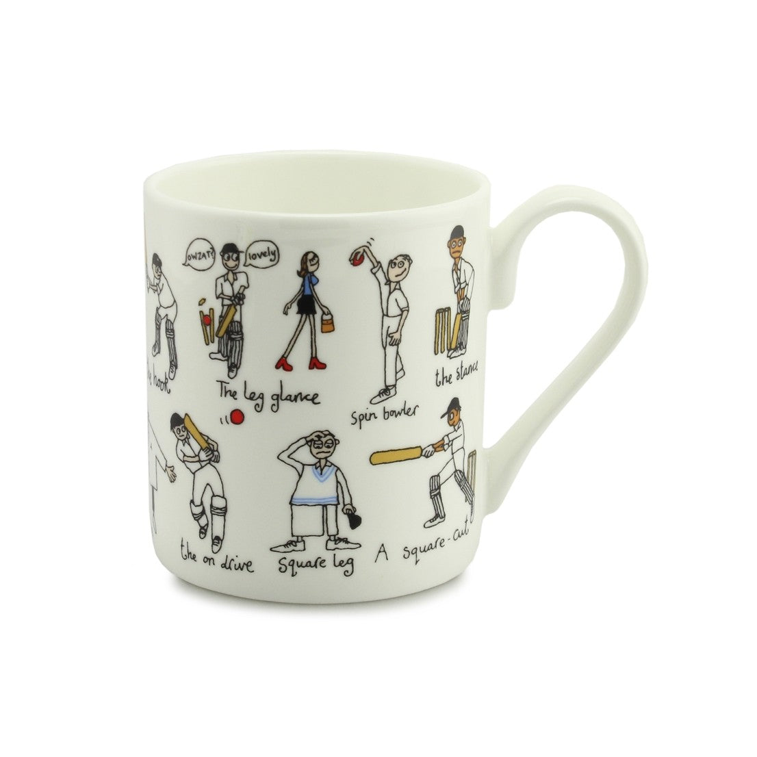 Little Cricketer China Mug
