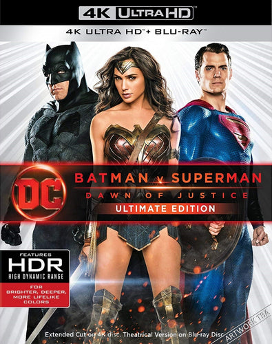 DC's Batman V Superman: Dawn of Justice [Extended Version] (2016) Vudu or Movies Anywhere 4K code