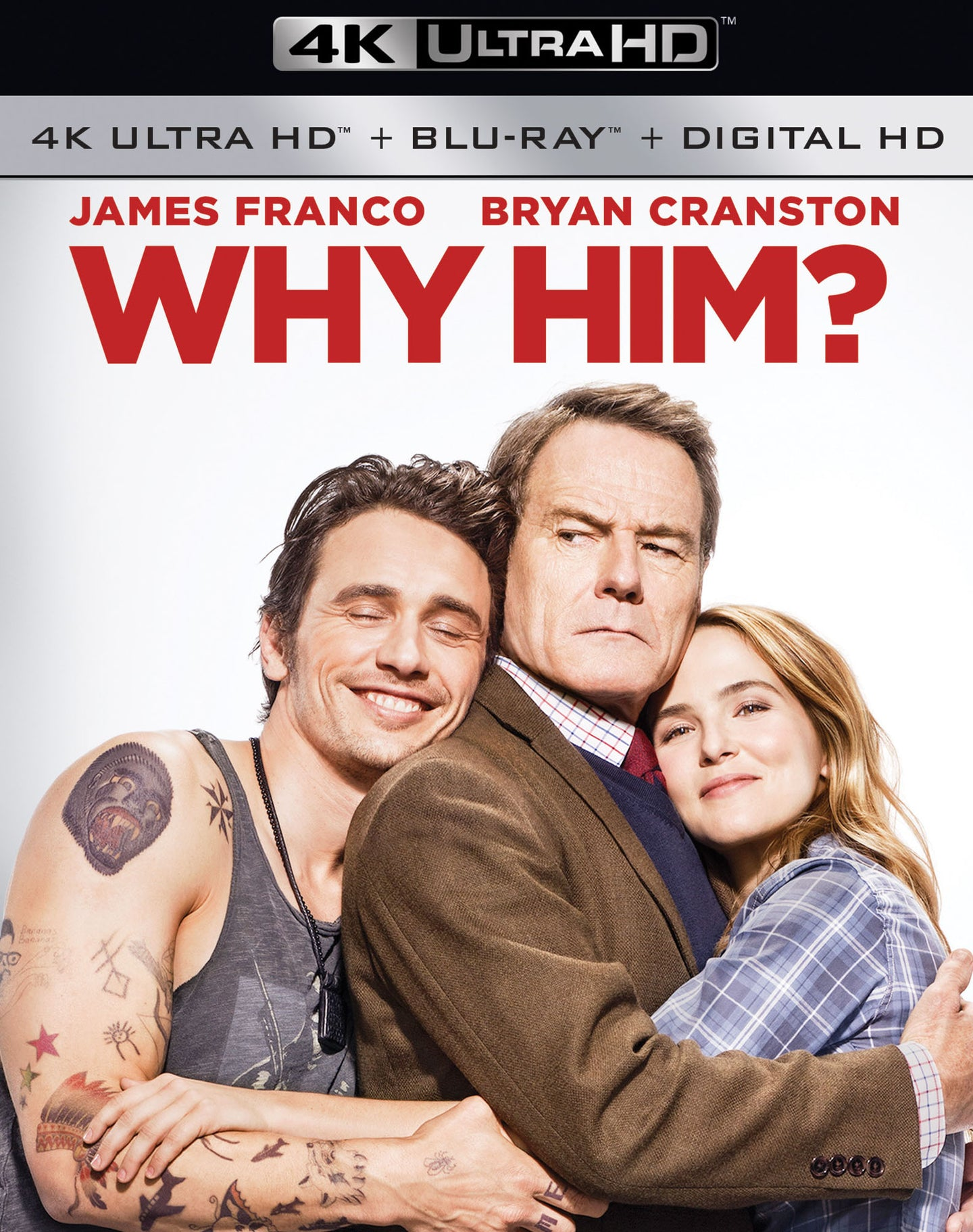 Why Him? iTunes 4K or Movies Anywhere HD code